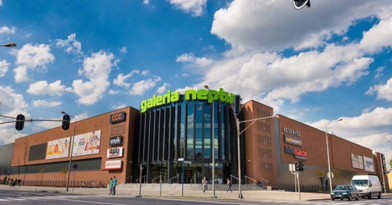 Centrum Handlowe Neptun w Starogardzie Gd.