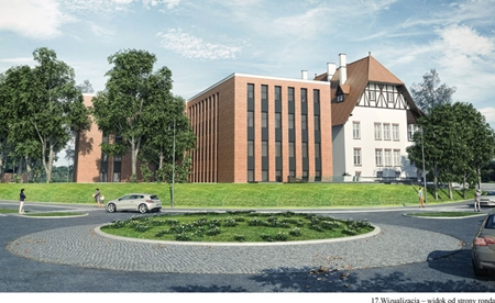 Budynek Sądu w Kartuzach
